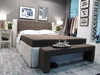 Wundervoll gestaltetes Wohnform Bett