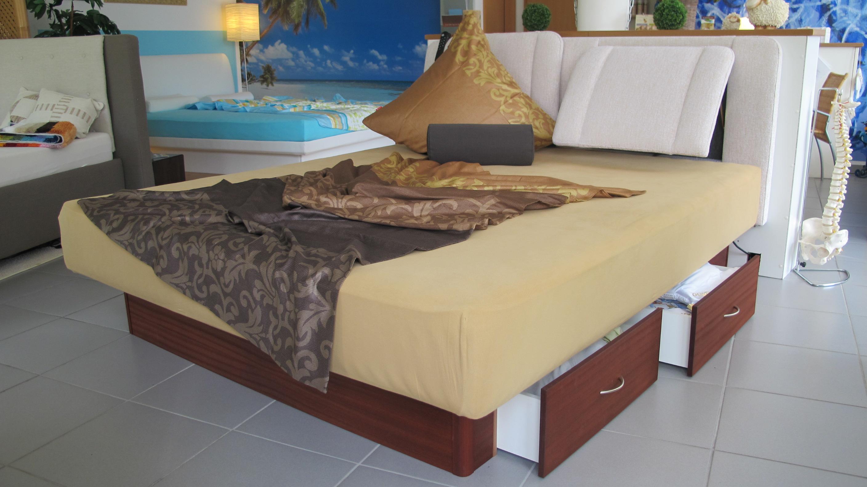akva soft mit everrest kopfteil und schubladensockel schlafoase hoenig. Black Bedroom Furniture Sets. Home Design Ideas