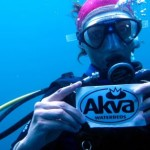 AKVA unter Wasser